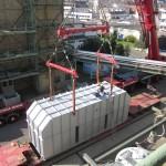 Anlieferung Katalysatoranlage