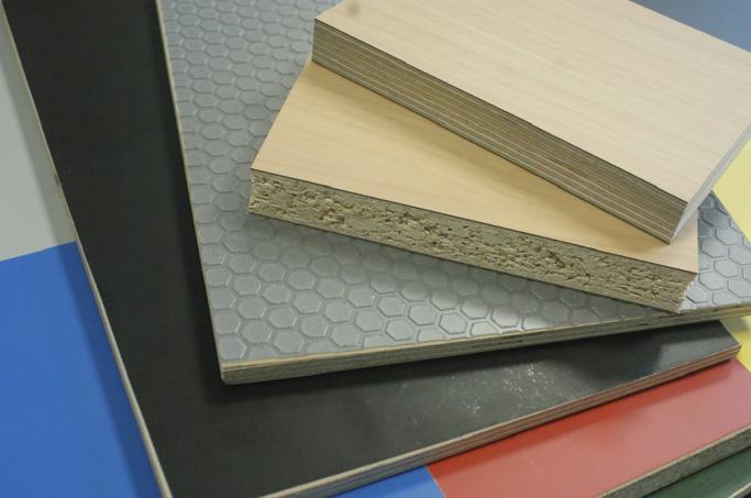 Abb. 2  Herstellung von Spanplatten